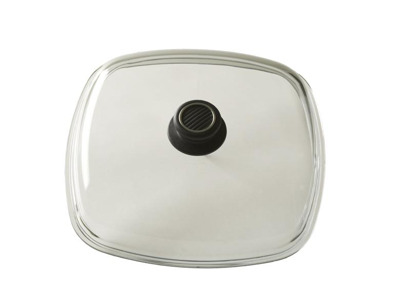 Крышка высокая 26 x 26 см Gastrolux, стеклянная